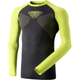 Dynafit Speed Dryarn Longsleeve T-shirt Heren, lime punch
